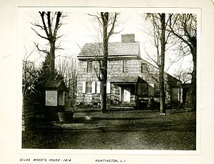 Silas Wood - George Bradford Brainerd (American, 1845–1887). Silas Wood's House, Huntington, Long Island, ca. 1872–1887. Collodion silver glass wet plate negative. Brooklyn Museum