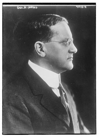 George H. Moses - Moses in 1918