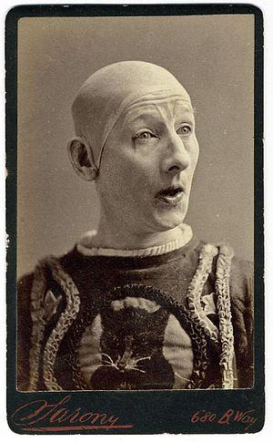 George L. Fox (clown) - Fox as Humpty Dumpty