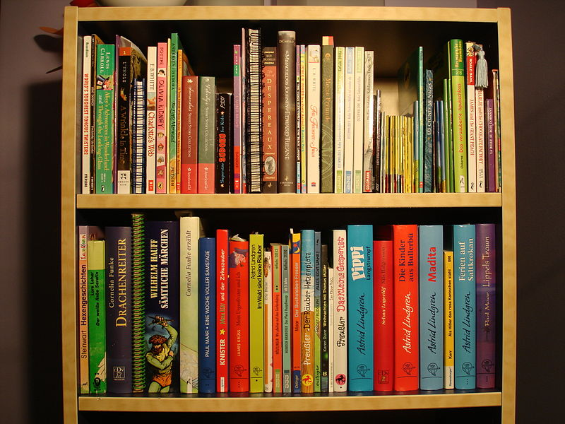 File:German American Kids Bookshelf.JPG