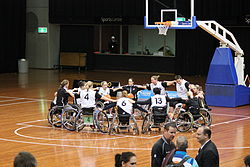 Germany v Australiia women's national wheelchair basketball team 5276