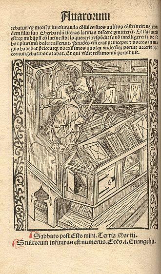 Johann Geiler von Kaisersberg - Navicula sive Speculum fatuorum (1510)
