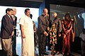 Ghulam Nabi Azad lighting the lamp to inaugurate the Call for Action Summit at Mmammallapuram, Tamil Nadu. The Minister of State for Health and Family Welfare, Shri S. Gandhiselvan and the US Ambassador to India.jpg