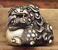 Giappone, periodo edo, netsuke (fermaglio per inroo), xix secolo, 170 drago o leone celeste.jpg