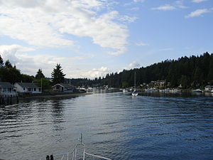 Gig Harbor, Washington - Entering Gig Harbor