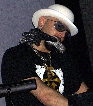 Gigi D'Agostino - D'Agostino performing in Rimini, Italy in 2005.