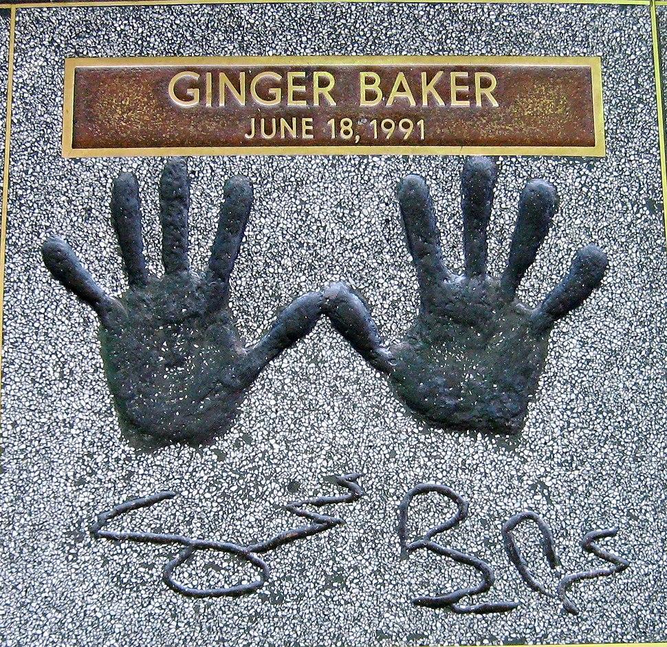 Ginger Baker-handprints