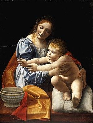 Giovanni Antonio Boltraffio - Madonna and Child (Museum of Fine Arts, Budapest)