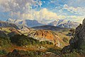 Giovanni Varrone - View of the Rax and Schneeberg mountains.jpg