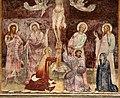Giovanni cristiani e bottega, natività, crocifissione con santi e compianto, 1390 ca. 10.jpg