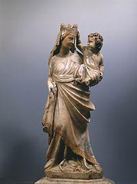 Giovanni pisano, madonna con bambino, cathedral of prato.jpg