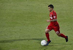 Sebastian Giovinco - Giovinco playing for Toronto FC during the 2015 MLS season.