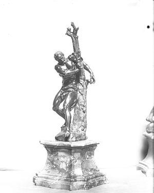 Giuseppe Piamontini - Image: Giuseppe Piamontini Milo of Crotona Walters 54680