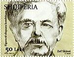Giuseppe Schirò 2015 stamp of Albania.jpg