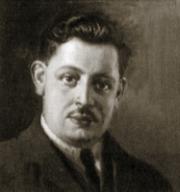 Tomasi di Lampedusa in età giovanile, ritratto ad olio del 1936