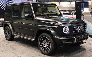 Mercedes-Benz G-Class Sport utility vehicle