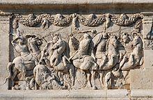 Rilievi del mausoleo di Glanum