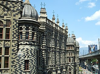 Agustín Goovaerts - Rafael Uribe Uribe Palace of Culture in Medellín, Colombia