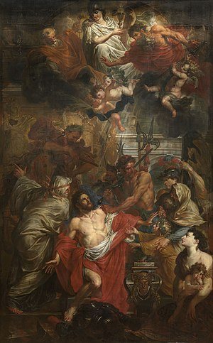 Godfried Maes - Martyrdom of Saint George the Great