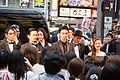 Godzilla Resurgence World Premiere Red Carpet- Hasegawa Hiroki, Takenouchi Yutaka, Ishihara Satomi, Kora Kengo, Matsuo Satoru, Ichikawa Mikako, Osugi Ren, Tsukamoto Shinya, Anno Hideaki, Higuchi Shinji & Onoue Katsuro (27987760684).jpg