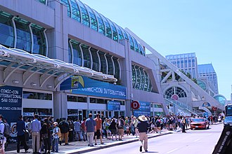 San Diego Comic-Con - The San Diego Convention Center during Comic-Con in 2013