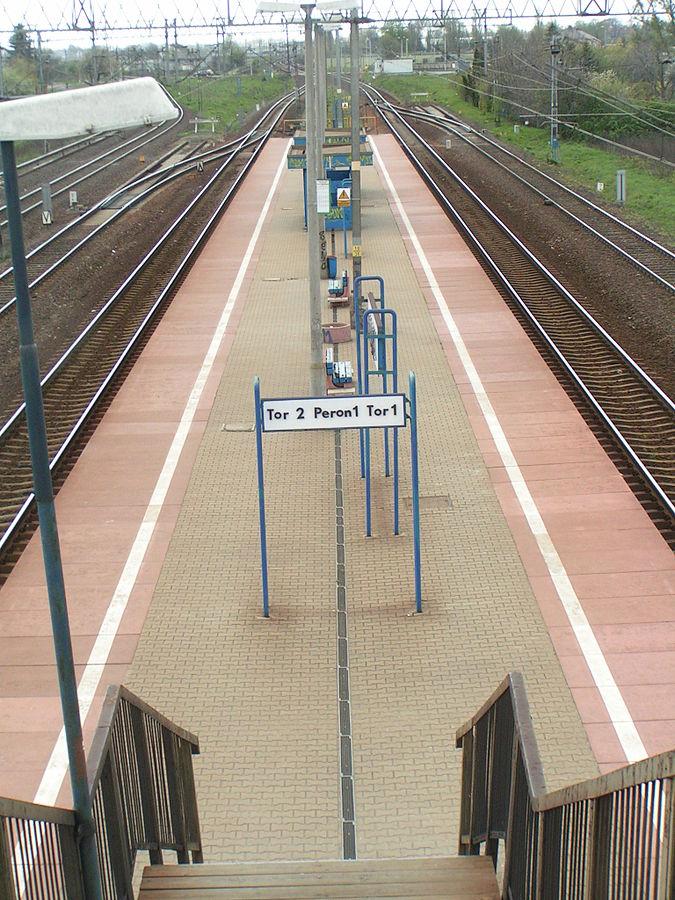 Warszawa Gołąbki railway station