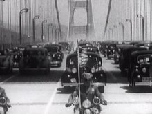 Fil:Golden Gate Bridge Opening - (1936).ogv
