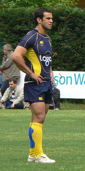 Gonzalo Canale - Canale training with Clermont Auvergne in 2010