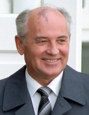 President of the Soviet Union - Mikhail Gorbachev