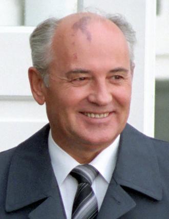 President of the Soviet Union - Mikhail Gorbachev