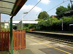 Gorton railway station - Image: Gorton railway station 1
