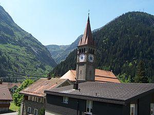 Göschenen - Goschenen church