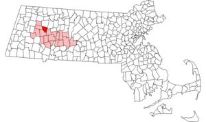 Goshen, Massachusetts - Image: Goshen ma highlight