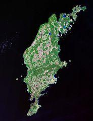 Satellitenfoto Gotland