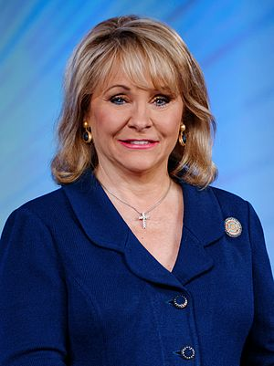Governor of Oklahoma - Image: Governor Mary Fallin May 2015