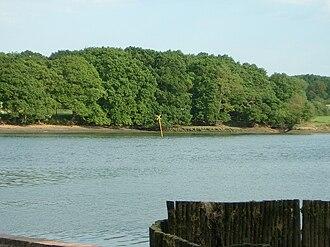 Grace Dieu (ship) - Site of the wreck of Grace Dieu