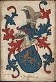Graeue van Nassouwen - Graaf van Nassau - Count of Nassau - Wapenboek Nassau-Vianden - KB 1900 A 016, folium 04r.jpg
