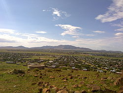 Graham Maclachlan - Thaba N'chu Mountain in the distance.jpg