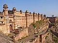 Grand facade of Gwalior Fort.jpg