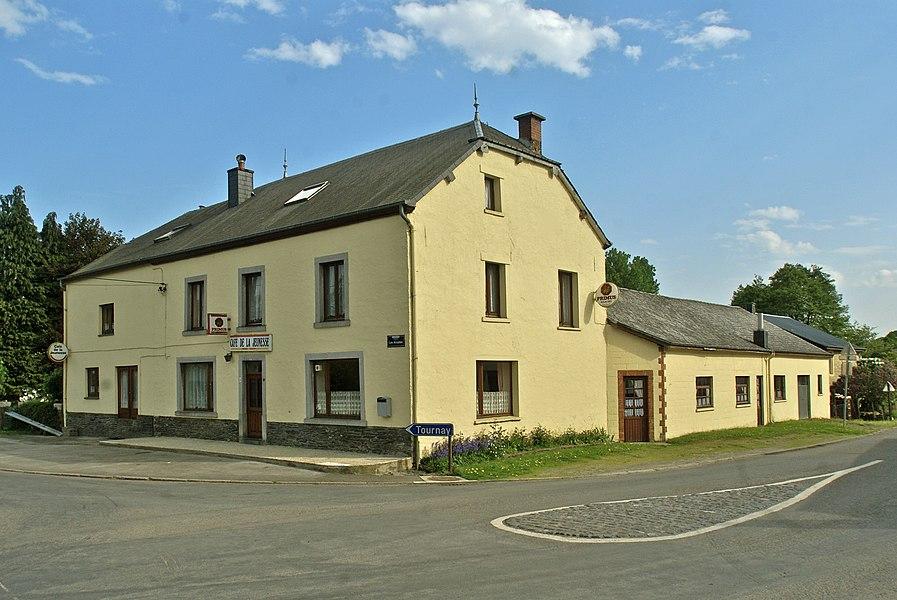 Neufchâteau, Belgium (Grandvoir),  Belgium: Café de la jeunesse