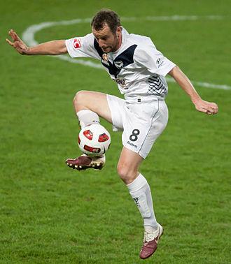 Grant Brebner - Brebner playing for Melbourne Victory