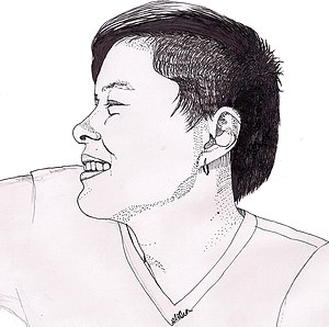 Elisha Lim - Self-portrait of Elisha Lim