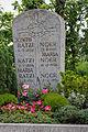 Grave stone, Regensburg Pentling, family grave of Benedict XVI, Ratzinger.jpg