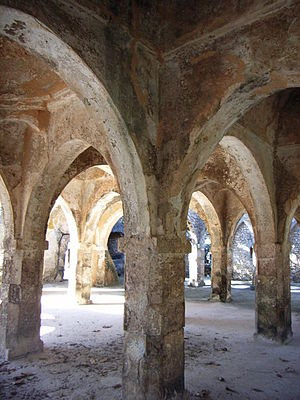 Kilwa Kisiwani - Great Mosque at Kilwa
