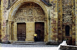Abbey Church of Saint Foy - Church doors