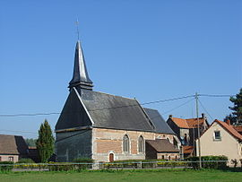 The church of Grigny