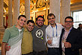 Group Photo at LOC Wikimania Opening Reception 2.jpg