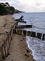 Groyne at Inchmery foreshore - geograph.org.uk - 431507.jpg