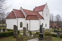 Gryts kyrka i april 2012