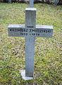 GuentherZ 2013-01-12 0395 Wien11 Zentralfriedhof Gruppe88 Soldatenfriedhof polnisch WK2 Grabkreuz Kazimierz Zmudzinski.JPG